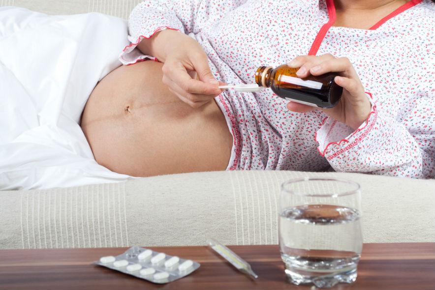 беременность 37 недель заболела простудой выбрать термобелье