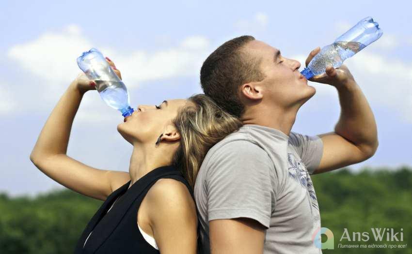 Скільки потрібно пити води за добу?