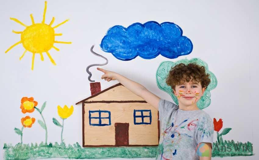 Як навчити дитину малювати?