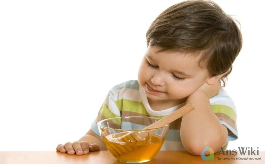 З якого віку можна давати мед дітям?